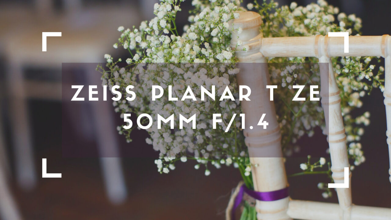 ZEISS Planar T ZE 50mm f_1.4