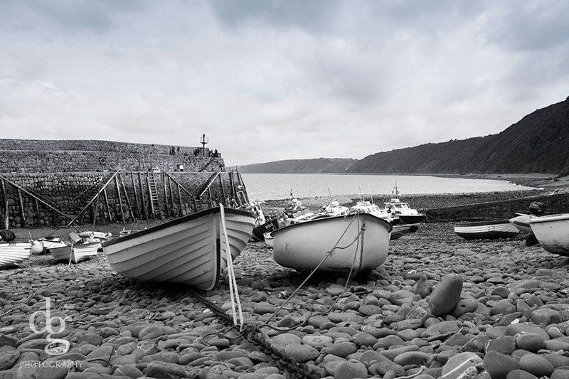 Clovelly Harbour Devon