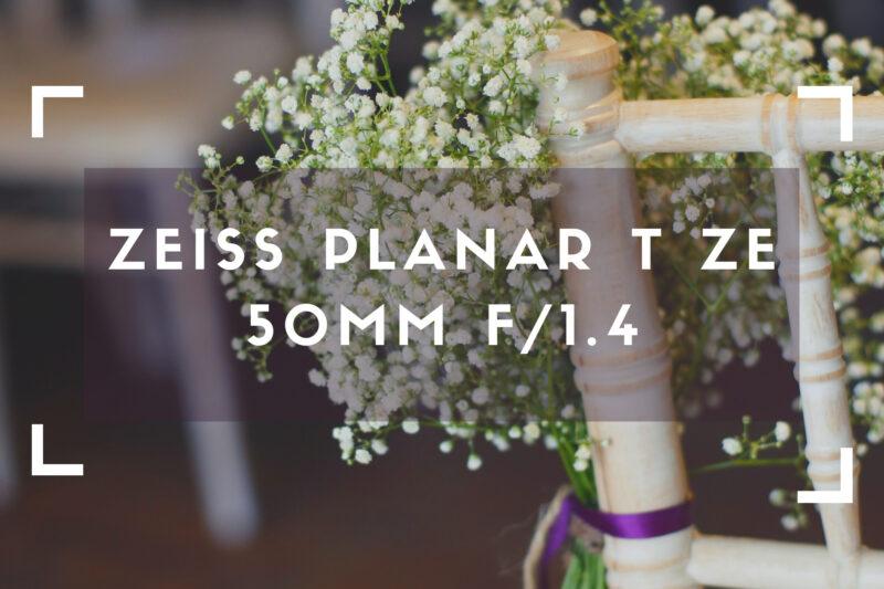 ZEISS Planar T ZE 50mm f_1.4
